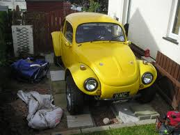 yellow baja bug beetle baja1641cc loads of kit