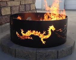 Metal Firepits Pit Metal Metal Ring Steel Outdoor
