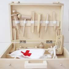 wooden kit wooden doctor s kit