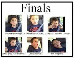 serious insanity it s finals week