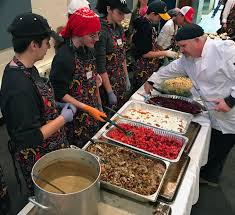 the power of a warm meal served up at evanston synagogue