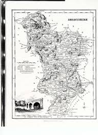Derbyshire England Map by Genealogy And Derbyshire England