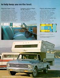 Truck Camper Floor Plans by 4x4 Chevrolet 350 Pick Up Truck Large Shell 3 4 Ton 350 Camper