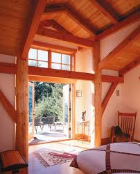 Home Interior Frames Timber Frame And Log Home U2014 Greg Robinson Architect