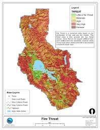 Colorado Wildfire Risk Map by Wildfire Protection Plan