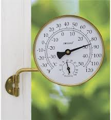 Patio Clocks Outdoor Thermometer Outdoor Clocks U0026 Outdoor Thermometers Wind U0026 Weather