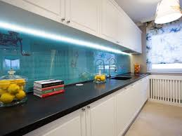 Glass Backsplashes For Kitchens by Travertine Backsplashes Hgtv