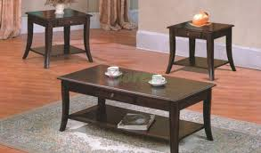 grus wooden coffee table set with drawers xiorex