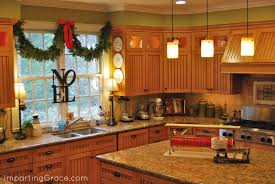 Christmas Decoration Ideas For Kitchen Imparting Grace Dollar Store Christmas Decorating