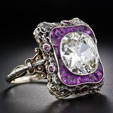Purple Wedding Rings by 31 Best Rings Late 1800 U0027s And Early 1900 U0027s Images On Pinterest