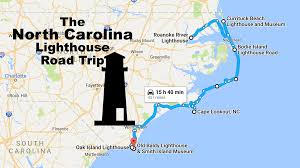 Florida Lighthouses Map by This Lighthouse Road Trip In North Carolina Is A Must Do