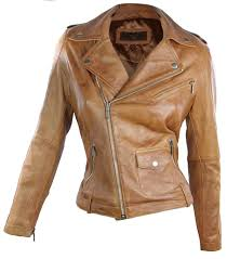 light brown leather jacket womens 100 ladies leather jacket biker style retro tan brown soft leather