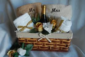 wedding gift towels gift baskets for weddings