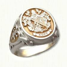family rings for 61 best signet rings images on rings signet ring and