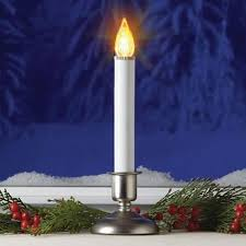 Electric Candles For Windows Decor Impressive Decoration Electric Christmas Candles Tree Go Cordless