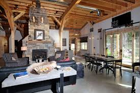 barn wood home great plains western horse barn home project