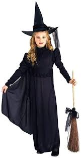 amazon com classic witch child costume girls small size 4 to 6