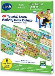 vtech table touch and learn amazon com vtech touch and learn activity desk deluxe expansion
