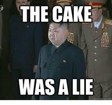 The Cake Is A Lie Meme - the cake was a lie quickmeme com meme on me me
