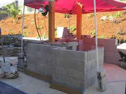how to build an outdoor kitchen island outdoor kitchens steel studs or concrete blocks yard ideas