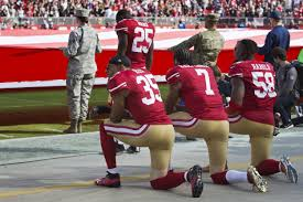 What Is A Flag Lot Taking A Knee Why Are Nfl Players Protesting And When Did They