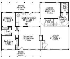 3 Bedroom 2 Bath Open Floor Plans 52 Simple Small House Floor Plans Garage Garage Simple Small
