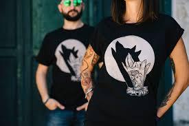 couples t shirts set wolf shirt matching shirts for couple