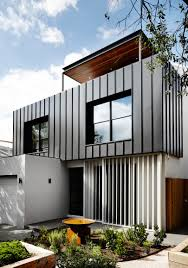 Hangar Design Group Suite Home by A Contemporary Monochromatic Home In Melbourne By Sisalla