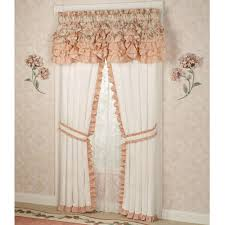Burlap Ruffle Curtain Ruffle Curtains Panel How Do Pleated And Ruffle Curtains