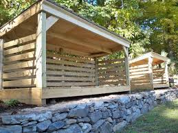 Plans To Build A Firewood Shed by Best 25 Wood Shed Ideas On Pinterest Wood Store Shed Storage