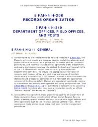 file us department of state foreign affairs manual volume 5