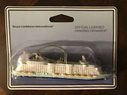 new royal caribbean oasis of the seas cruise ship ornament