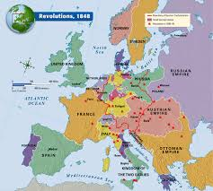 Map Of Germany And Austria by Revolutions 1848 In The Wake Of These Revolutions Particularly