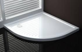 piatti doccia acrilico piatto doccia ultraflat in acrilico alto 4cm semicircolare