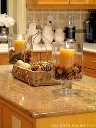 Decor Ideas For Kitchen Best 25 Fall Kitchen Decor Ideas On Pinterest Kitchen Counter