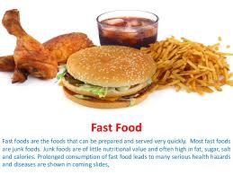 Why Fast Foods Are Bad For You Fast Food Ppt