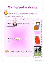 free worksheets picture analogies worksheet free math