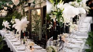 Centerpiece With Feathers by Floral U2014 Everything Feathers The Feather