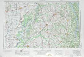 Map Of Kentucky And Tennessee by Dyersburg Topographic Maps Tn Mo Ky Usgs Topo Quad 36088a1 At