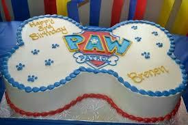 patrol birthday cake
