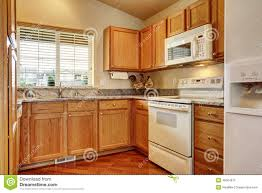 Kitchen With White Appliances by Small Kitchen Area With White Appliances Stock Photo Image 45024675