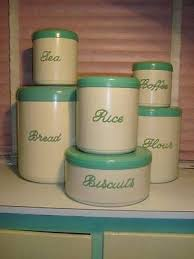 green canisters kitchen 379 best canisters images on kitchen canisters