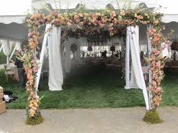 wedding arch entrance outstanding entrance idea for outdoor wedding reception
