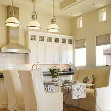 French Country Roman Shades - black french range cottage kitchen mary evelyn interiors