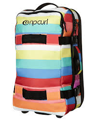 light travel bags luggage rip curl f light transit test pattern 50l travel bag multico