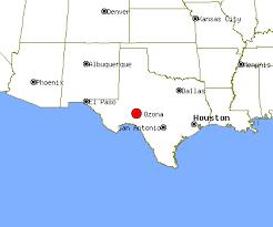 ozona map ozona profile ozona tx population crime map