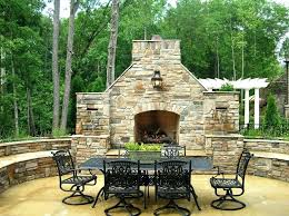 outdoor fireplace furniture ideas chairs western patio