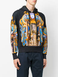 hoodie designer versace skater olympus print hoodie designer colour a708 pdauzia