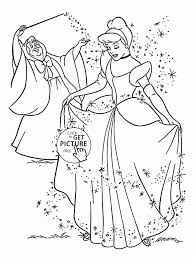 coloring cinderella looking back coloring page free book pages