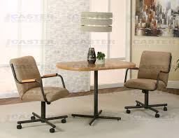 Dining Chairs With Casters Chair Company C84 3 Piece Dining Set D8z109 37 39 Table With